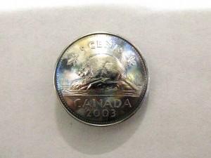 カナダ5セント
