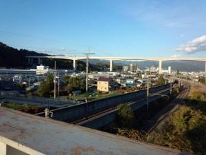 岡谷の景色