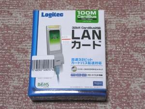 PCカード用LANカード