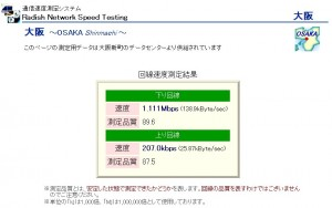 WiMAX測定結果
