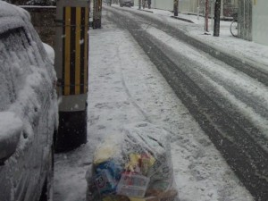 通り道の風景