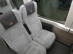 ひのとりの座席